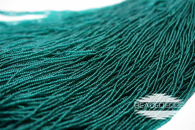 11/0 TR Emerald Green | Seed Beads