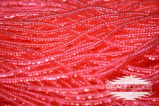 11/0 TR Bright Salmon Rose | Seed Beads