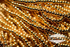 11/0 24k Gold Plate Strand | Seed