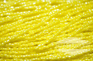12/0 OP Lemon Yellow Luster | 3 Cut