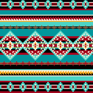 Turquoise Running River | Fabric