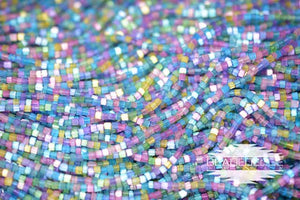 11/0 2 Cut Unicorn Satin Mix