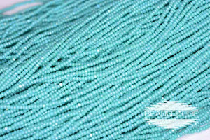 13/0 OP Turquoise Green AB | Charlotte Cut