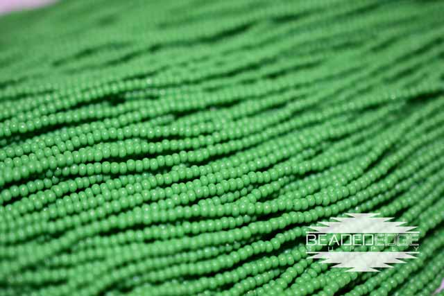 11/0 OP Green | Seed Beads
