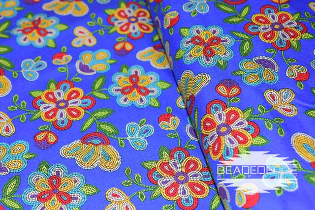 Royal Beaded Floral  | Fabric