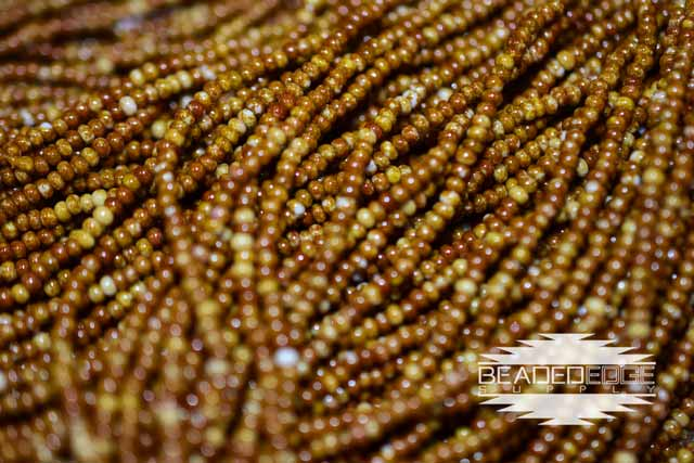 11/0 Brown Travertine | Seed Beads