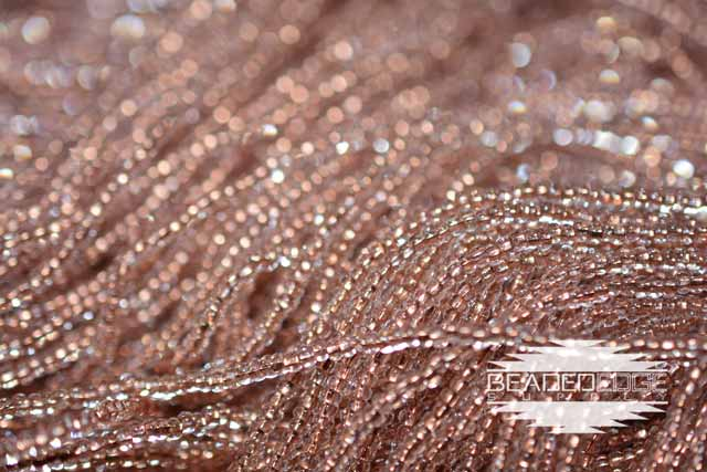 11/0 Copper Lined Crystal | Seed Beads