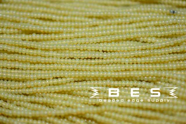 11/0 Greasy Yellow Opal | Seed Beads