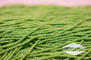 11/0 OP MED Green AB | Seed Beads
