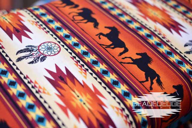 Terracotta Horse & Dream Catcher | Fabric