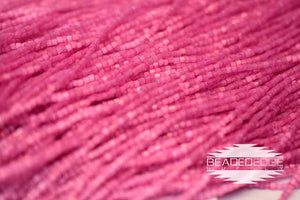 11/0 2 Cut Fuchsia Satin