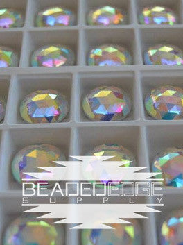 16mm Faceted Rounds AB | 2 Pair