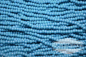 11/0 OP Blue Turquoise AB | Seed Beads