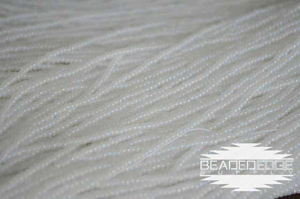 11/0 White Pearl AB | Seed Beads