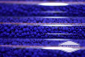 11/0 Frosted OP Royal Blue f414 JSB