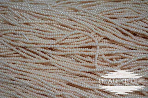 11/0 OP Eggshell Luster | Seed Beads
