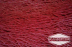 11/0 OP Red Luster | Seed Beads
