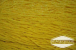11/0 OP Yellow Luster | Seed Beads