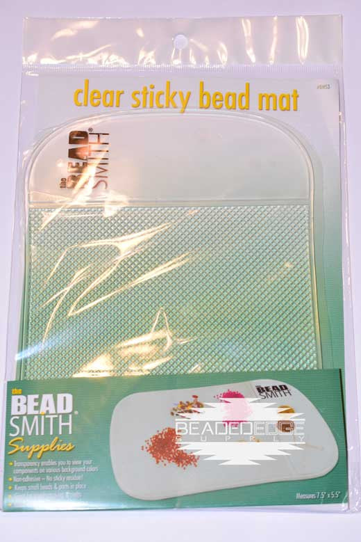 Clear Sticky Bead Mat | 7.5in x 5.5in