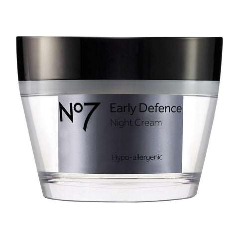 No7 Early Defence Night Cream 50ml