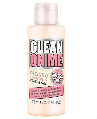 Soap & Glory Clean On Me Shower Gel Original Pink 75ml