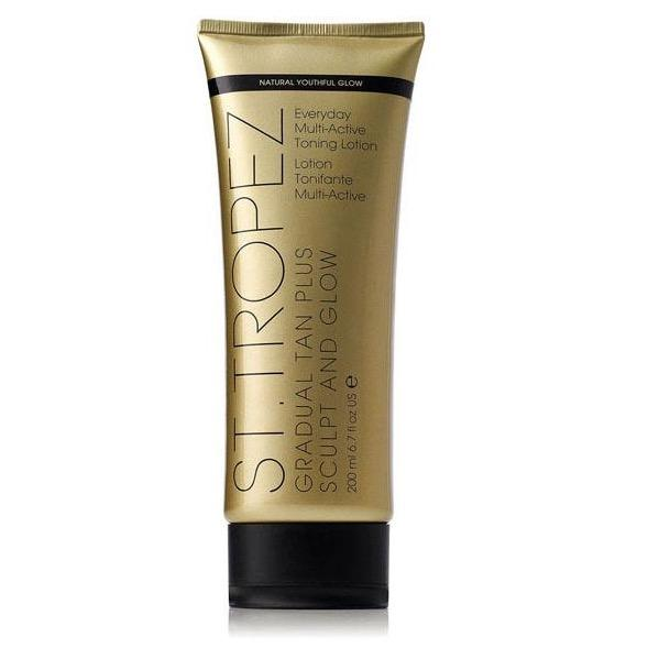 St Tropez Gradual Tan Plus Sculpt and Glow Body Lotion 200ml