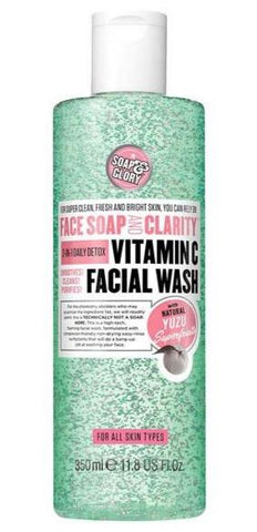 Soap & Glory Face Soap & Clarity Vitamin C Facial Wash 350ml