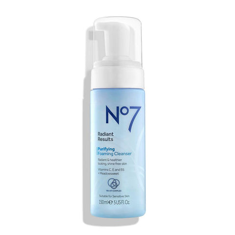 No7 Radiant Results Purifying Foaming Cleanser 150ml