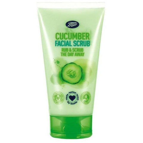 Boots Cucumber Facial Scrub 150ml