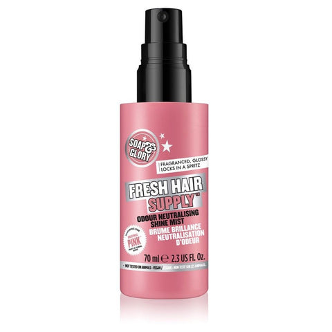 Soap & Glory Fresh Hair Supply Odour Neutralising Shine Mist 70ml