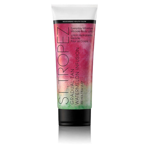St Tropez Grad Tan Watermelon Everyday Miracle Body Lotion 200ml