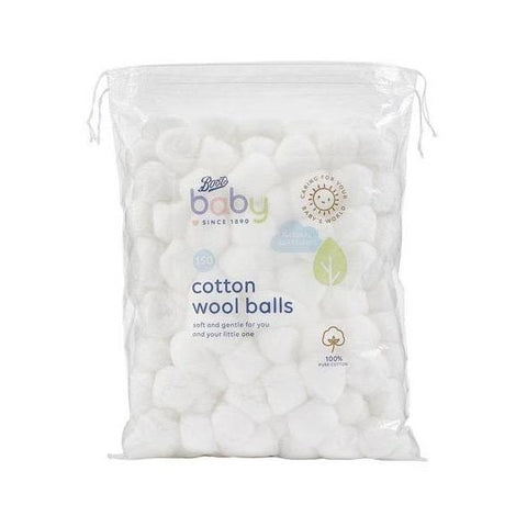 Boots Baby Cotton Wool Balls 150 pack