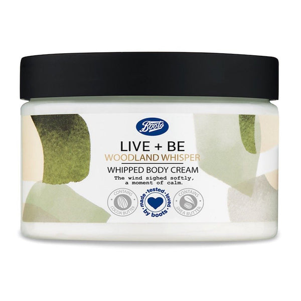 Boots Live + Be Woodland Whisper Body Souffle