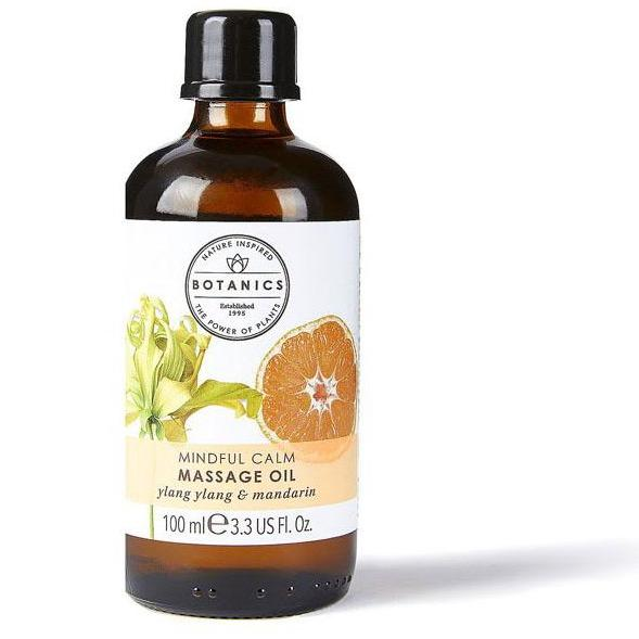 Botanics Aromatherapy Massage Oil Ylang Ylang 100ml