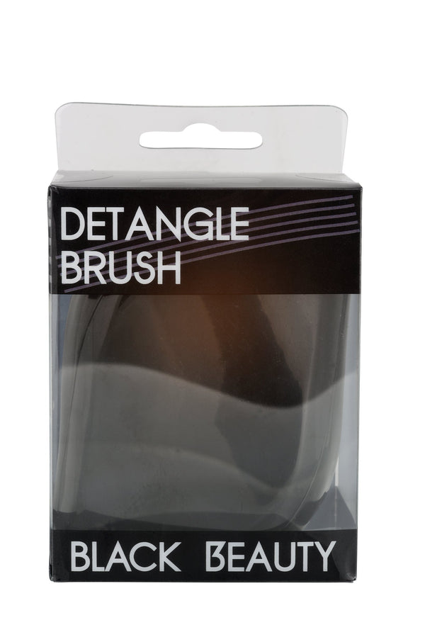 Detangle Compact Brush Black Beauty