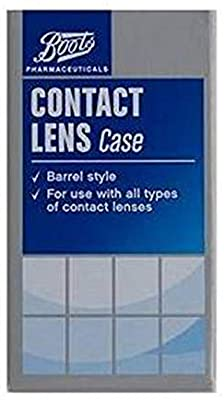 Boots Contact Lens Case Barrel Style