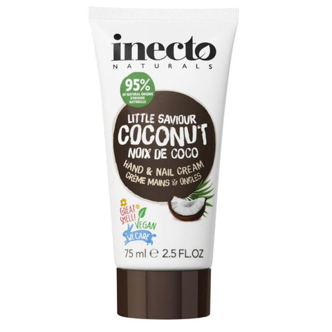 Inecto Little Saviour Coconut Hand & Nail Cream 75ml