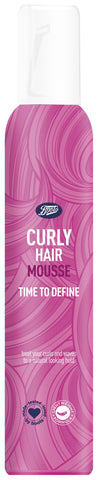 Boots Curly Hair Mousse 200Ml