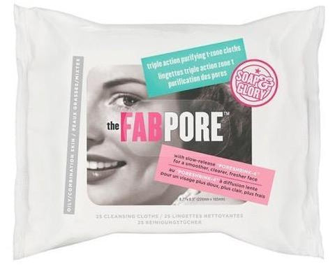 Soap & Glory The Fab Pore Face Wipes 25s