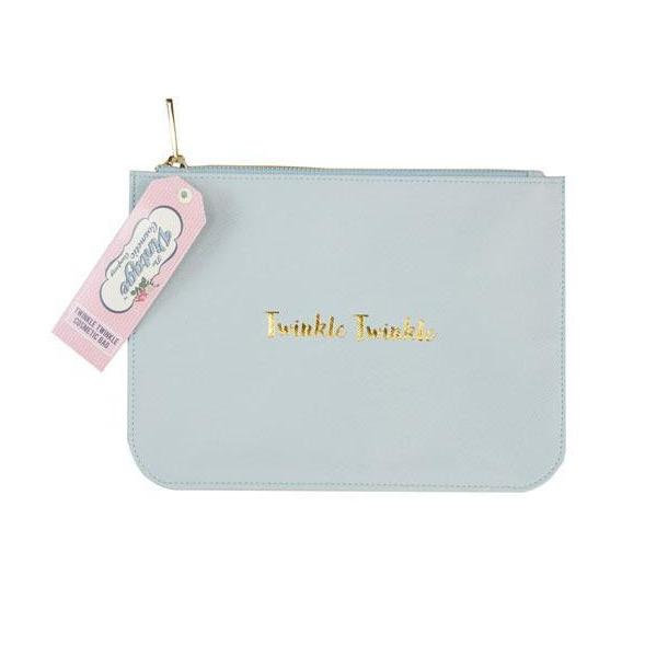 The Vintage Cosmetics Co. Clutch Bag Twinkle Twinkle Blue