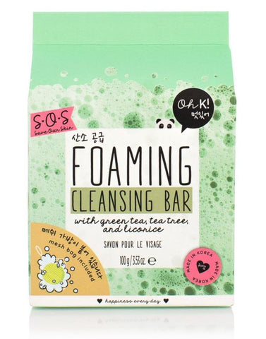 Oh K! SOS Foaming Cleansing Bar