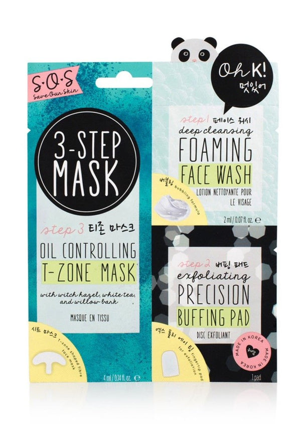 Oh K! SOS 3 Step Mask