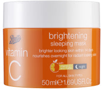 Boots Vitamin C Brightening Sleeping Mask