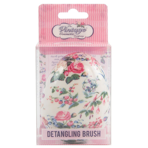 The Vintage Cosmetics Company - Floral Detangling Hair Brush