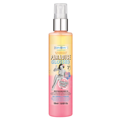 Soap & Glory Paradise Glossed Body Oil Call of Fruity