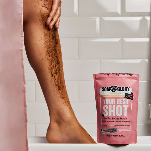 Soap & Glory Your Best Shot Coffee & Oat Scrub 180g