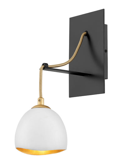 Hinkley Canada - One Light Wall Sconce - Nula - Shell White