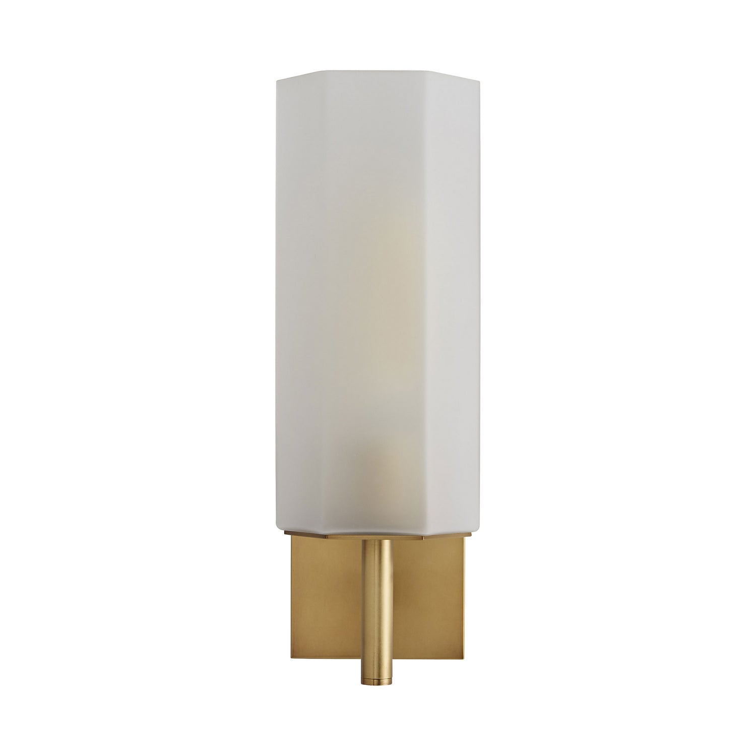 Arteriors - One Light Wall Sconce - Soloman - Frosted