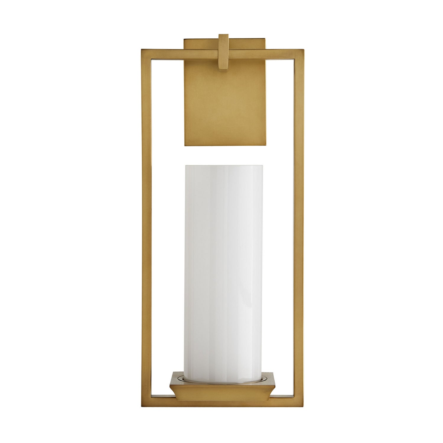 Arteriors - One Light Wall Sconce - Ray Booth for Arteriors - Antique Brass