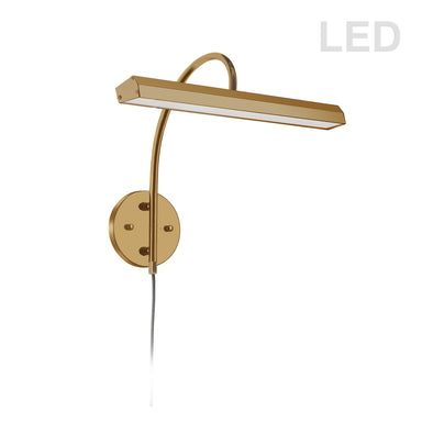 Tech Lighting - LED Head - Burk - Aged Brass